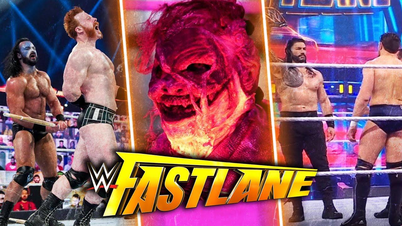 WWE Fastlane 2021: Results, full recap and match ratings