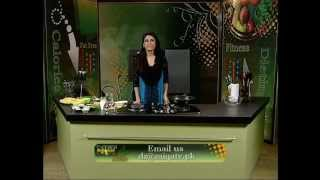 "Diet Zaiqa With Ayesha Abrar ""baked Pasta With Spinach, Lemon & Mushrooms"" Part 01 Of 02 At Zaiqa Tv"
