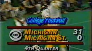 1985: Michigan 31 MSU 0