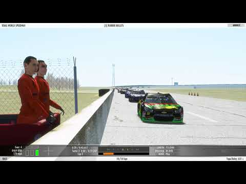 rFactor 2 Texas Motor Speedway Test Voice recording