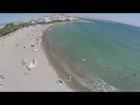 Spain, Marbella, Puerto Banus - Plaza Beach (01.08.2016)