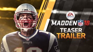 Madden 18 gameplay trailer!! target passing in madden 18 - madden 18 ultimate team