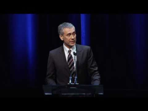 Tony Gilroy presents Lifetime Achievement Award to his Father at the Writers Guild Awards
