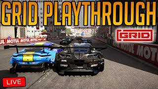 GRID: Pushing Through the Career Mode + Jumping into Multiplayer