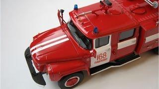 ЗІЛ-133ГЯ Пожежний (збірна модель)
