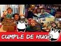 CUMPLEAÑOS de Hugo * ¡Regalos, broma, bolera y laser!