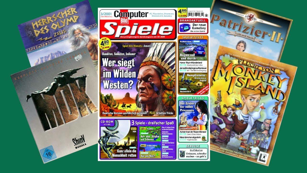 Computer Bild Spiele Cd Archiv