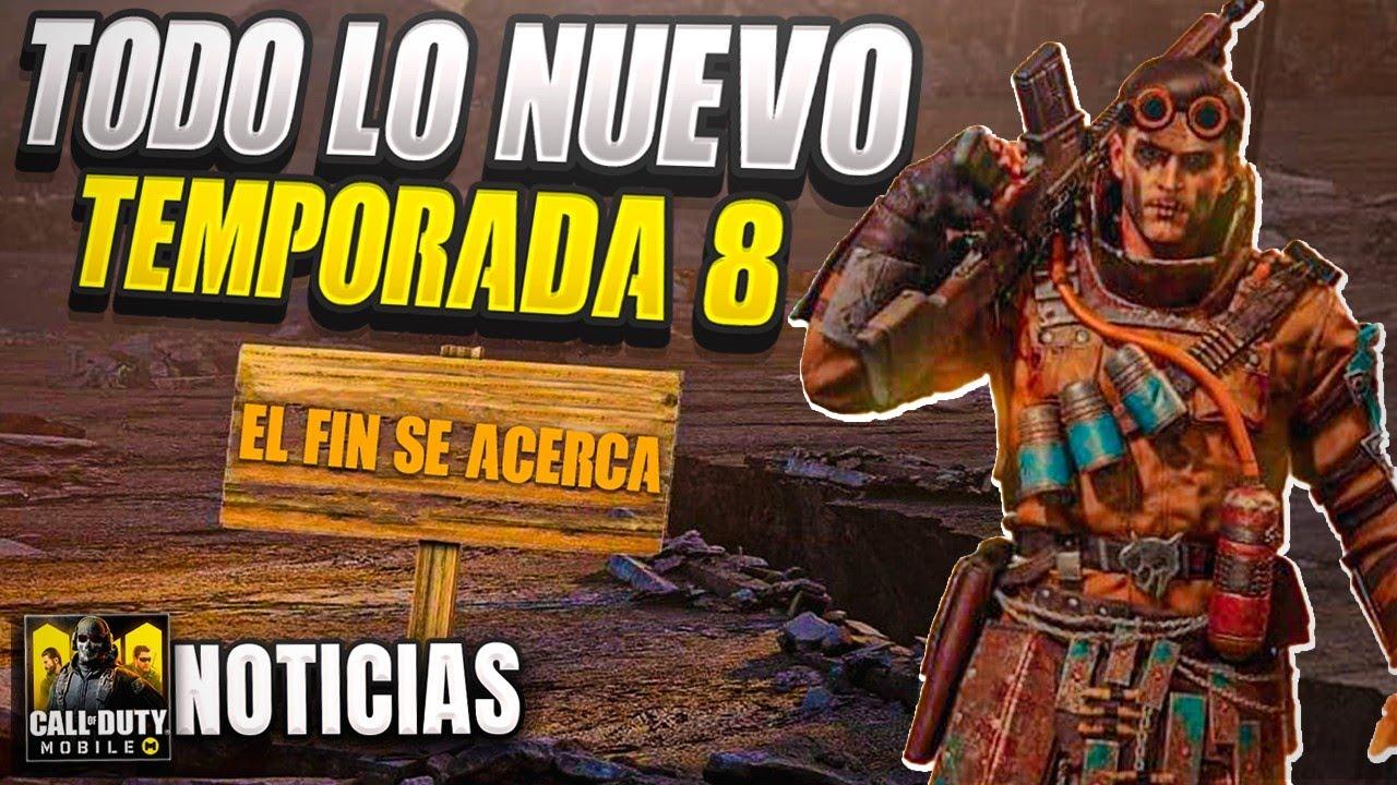 TODO lo NUEVO de la TEMPORADA 8, NUEVO MAPA, VENTAJAS, OPERADORES ...