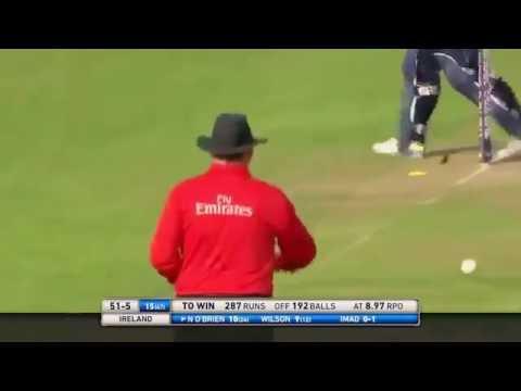 Imad Waseem 5 wickets vs ireland