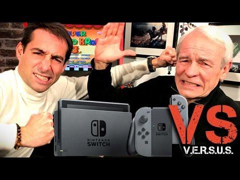VERSUS Spécial Nintendo Switch : AHL et Cyril ne sont vraiment pas d'accord !