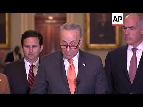 US Senate leaders 'Optimistic' on spending bill