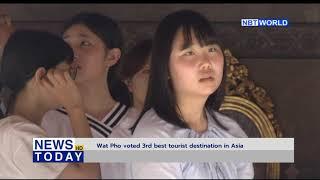 Wat Pho voted 3rd best tourist destination in Asia