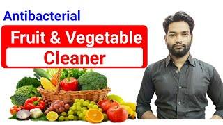fruit and vegetable cleaner fruit cleaner vegetable cleaner