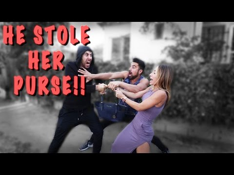 Thumbnail: HE STOLE HER PURSE!!!!