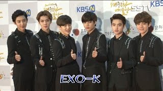 [SSTV] 엑소케이(EXO-K), 여섯 남자의 조각외모! '여심 녹이는 눈빛'