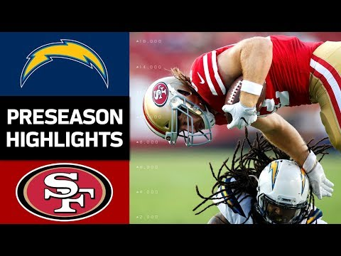 Chargers vs. 49ers | NFL Preseason Week 4 Game Highlights