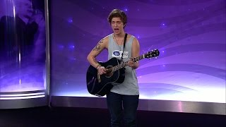 Tristan Björling - What if & Let her go (hela audition) - Idol Sverige (TV4)