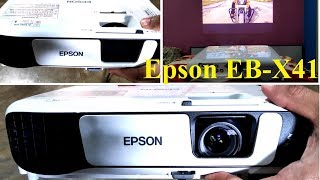 Epson EB-X41 Projector | Best Projector under Rs40,000 | Review