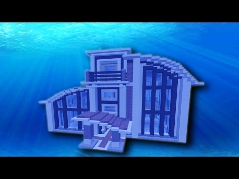 UNDERWATER MINECRAFT BASE DESIGN! (EPISODE 23)
