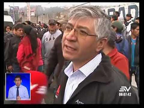 Quito: transporte público paralizó servicio desde la media noche