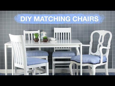 DIY Thrifty Dining Set