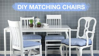 DIY Thrifty Dining Set