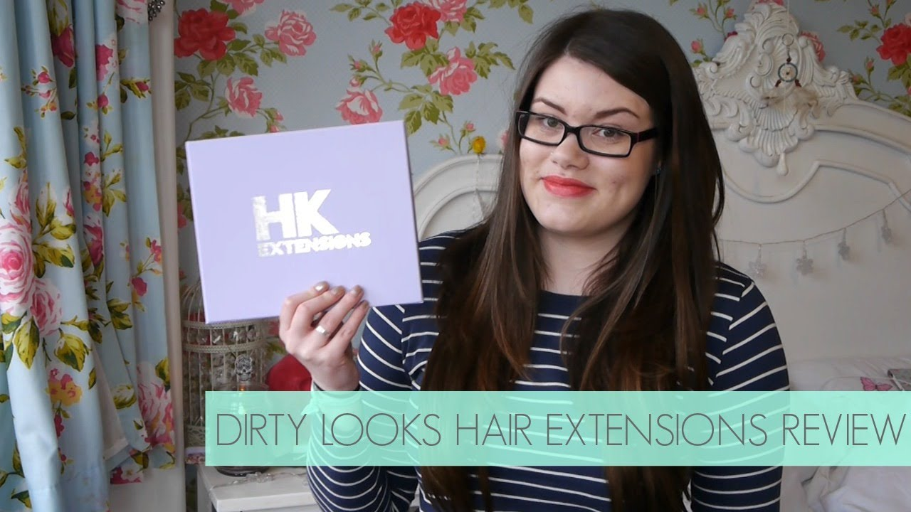 Dirty Looks Hair Extensions Review Prettywildthings Youtube