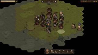 Battle Brothers: One man army (Lone duelist against 27 brigands)