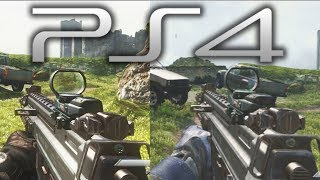 PS4 GAMEPLAY 1080p (Playstation 4) vs PS3 Graphics - Call of Duty: Ghosts - (Sony Console 2013 HD)