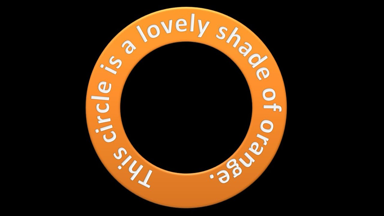 Create Text As A Circle Shape Youtube Inkscape39s New Voronoi Diagram Generator The Circles Are Created