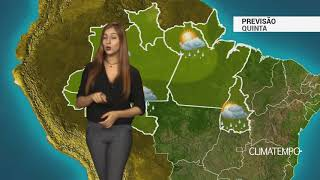 Previsão Norte - Alerta para chuva forte no PA e TO