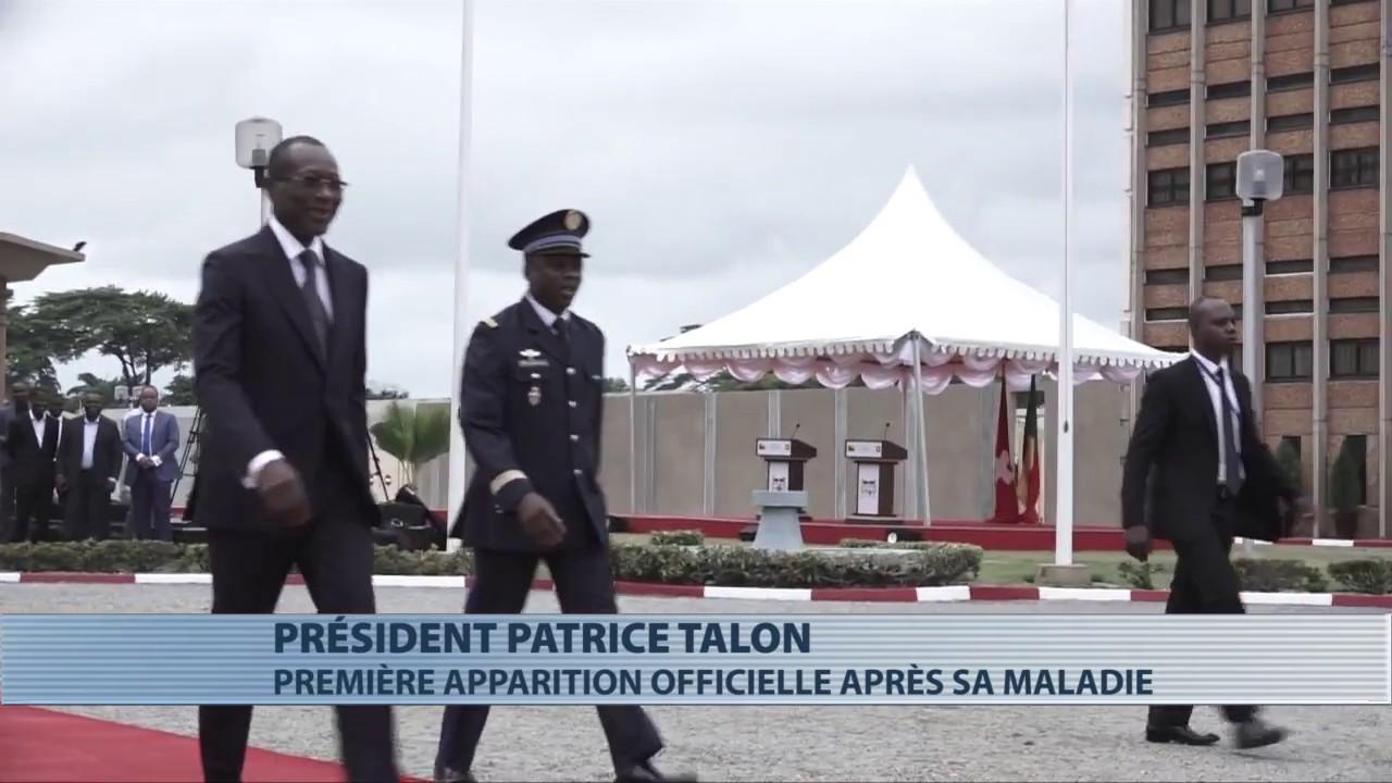 Première apparition publique officielle de Patrice Talon : le président va bien !
