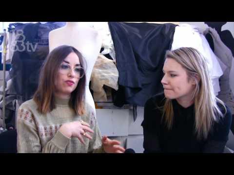 Georgia Hardinge at London Fashion Week AW 12