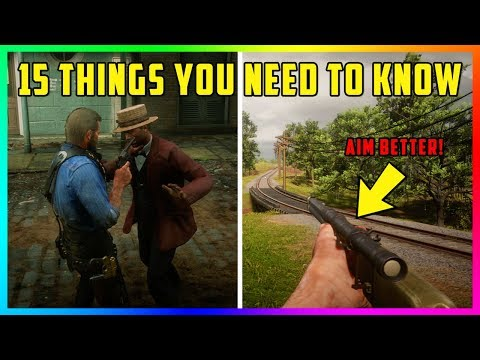 15 Things You NEED To Know That Will Change The Way You Play Red Dead Redemption 2 Forever! (RDR2)