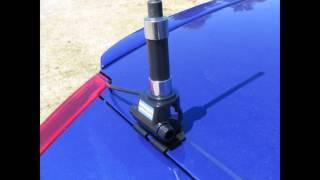 видео Как своими руками изготовить пассивную антенну для автомагнитолы; как самостоятельно сделать радиоантенну