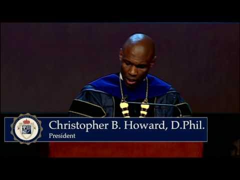 Dr. Howard Inauguration Speech Highlight