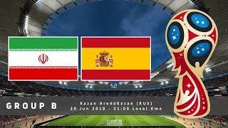 Španělsko vs Írán /FIFA 18