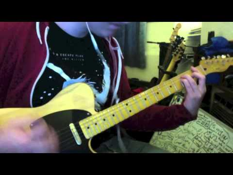 Farewell, Mona Lisa (Guitar Cover)- The Dillinger Escape Plan by James Perkins