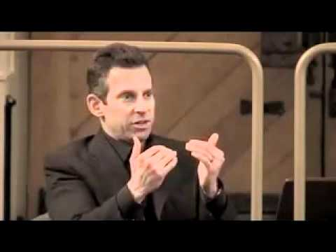 Sam Harris at Oxford, questioned by grad student