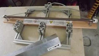 樹脂板の美しい曲げ方(自作の道具で曲げる) thumbnail