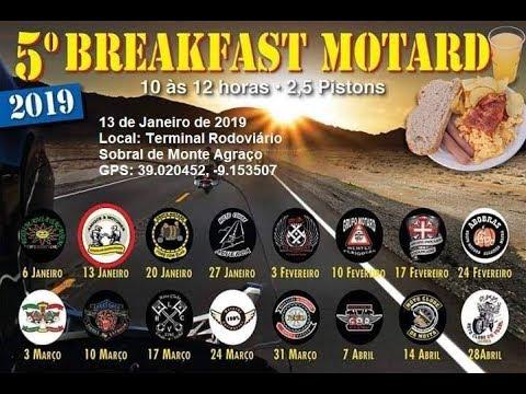 2,5 Pistons | Breakfast Motard - Sobral de Monte Agraço | Janeiro 2019