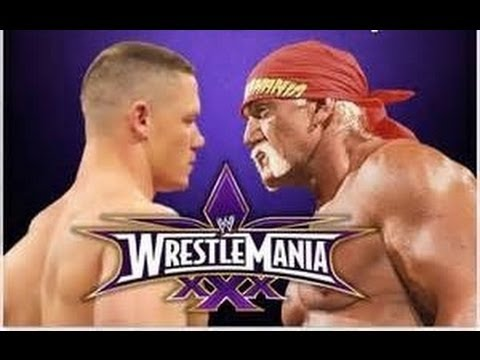 Hulk Hogan vs John Cena Wrestlemania 30 rumors - YouTube