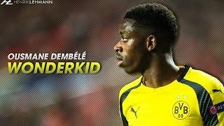 19 Year Old Ousmane Dembélé | Dortmund - Goals & Skills