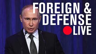 Present and future dangers on the eve of Vladimir Putin's reelection | LIVE STREAM