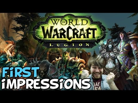 "World Of Warcraft: Legion First Impressions ""What's New?"""