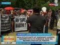 BT: Mga estudyante at Maranao leaders, nagprotesta vs. mabagal daw na rehabilitasyon sa Marawi