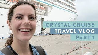 Crystal Cruise Vlog | EUROPE 2018 Part 1 of 2 | Marseille, Barcelona, Gibraltar and Lisbon