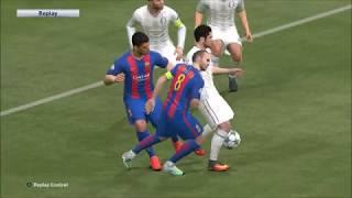 PES 2017 | Real Madrid vs Barcelona