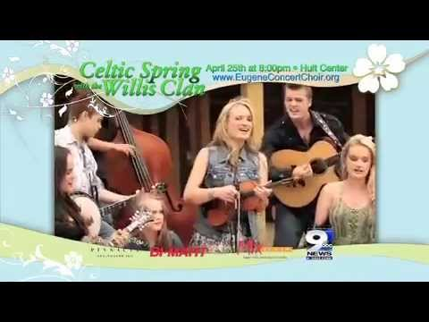 Eugene Concert Choir presents Celtic Spring with the Willis Clan