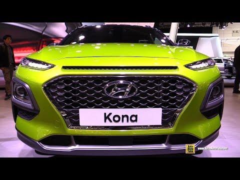2018 Hyundai Kona Exterior and Interior Walkaround Debut at 2017 Frankfurt Auto Show